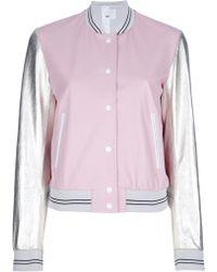 MSP | Colour Block Jacket | Lyst