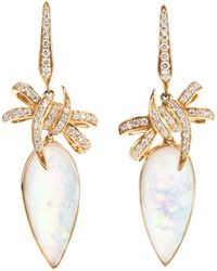 Stephen Webster 'Forget Me Knot' Bow Earrings - Lyst