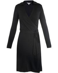Diane von Furstenberg New Jeanne Two Dress blue - Lyst