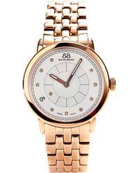 88 Rue Du Rhone - Womens Diamond Set Dial Bracelet Watch - Lyst