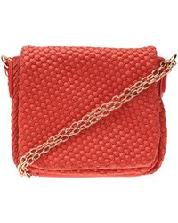 Cornelia Guest - Peri Faux-Leather Messenger - Lyst