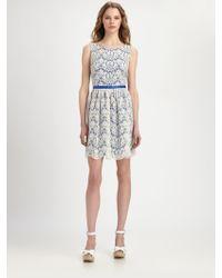 Shoshanna June Lace Dress - Lyst