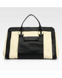 Chloé Alice Springs Colorblock Large Tote - Lyst