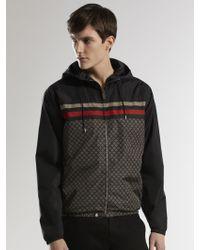 Gucci Iconic Kway Jacket - Lyst