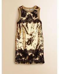 Dolce & Gabbana Girls Sequin Dress - Lyst