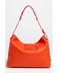 Jimmy Choo Rachel Small Grainy Calfskin Leather Shoulder Bag - Lyst