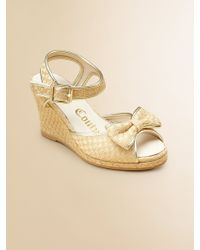 Juicy Couture - Girls Annika Bow Wedge Sandals - Lyst