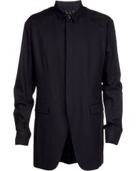 Juun.j Dress Shirt Jacket - Lyst