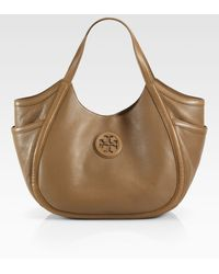 Tory Burch Hannah Pocket Hobo - Lyst