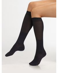 Maria La Rosa Ribbed Knee Socks - Lyst