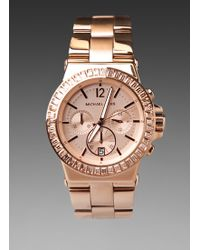 Michael Kors Dylan Watch - Lyst