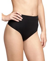 Gap Sculpting Thong black - Lyst