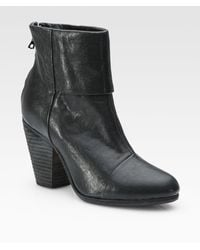 Rag & Bone Classic Newbury Leather Ankle Boots - Lyst