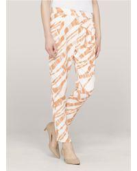 3.1 Phillip Lim Tiger Silk Pants - Lyst