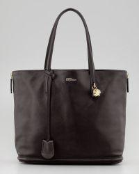 Alexander McQueen New Padlock Shopper Bag - Lyst