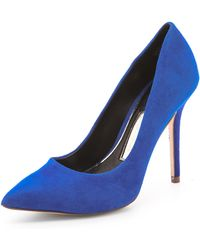 Boutique 9 - Justine Suede Court Shoes - Lyst