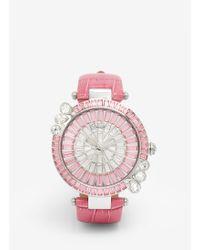 Galtiscopio - 'marguerite' Crystal Dial Watch - Lyst