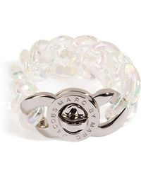 Marc By Marc Jacobs Small Candy Turnlock Bracelet in Clear - Lyst