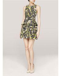 McQ by Alexander McQueen Butterfly print Tank Dress - Lyst