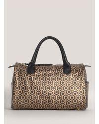Mischa | Printed Mini Duffle Bag | Lyst