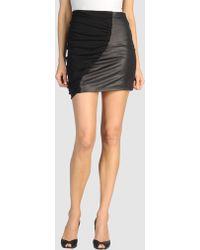 Catherine Malandrino Mini Skirt - Lyst