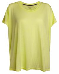 J Brand J Brand Collection Matlin Tee Key Lime - Lyst