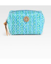 Tory Burch Large Molded Cosmetic Case - Lyst