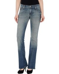 James - Denim Trousers - Lyst