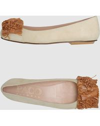 Paco Gil Ballet Flats - Lyst