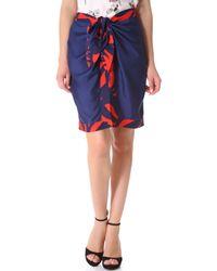 Piamita - Beatrice Tie Waist Skirt - Lyst