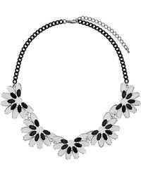 Topshop Flower Collar - Lyst