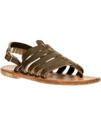Golden Goose Deluxe Brand - Sling Back Sandal - Lyst