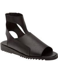 Mugler Leather Sandal - Lyst