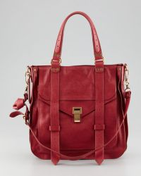 Proenza Schouler Ps1 Small Leather Tote Bag - Lyst