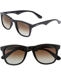 Carrera '6000' 50Mm Sunglasses - Shiny Black - Lyst