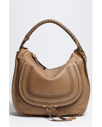 Chloé Marcie Large Leather Hobo - Lyst