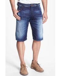 Diesel Krooley Denim Shorts - Lyst
