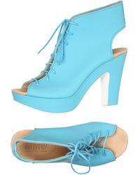 MM6 by Maison Martin Margiela Lace-Up Shoes - Lyst