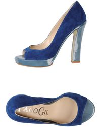 Paco Gil Courts With Open Toe - Lyst