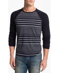 Splendid Mills | Revere Stripe Baseball Tshirt | Lyst