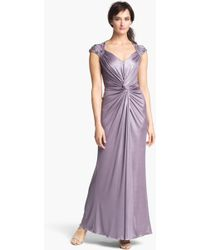 Patra | Front Twist Jersey Gown | Lyst