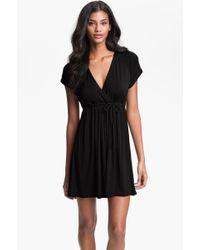 Robin Piccone Surplice Coverup Dress - Lyst