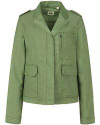 Uniqlo Cotton Military Jacket - Lyst