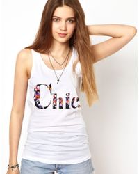 A Question Of - Chic Organic Vest - Lyst