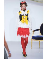 Meadham Kirchhoff - Yes Embroidered Cottonknit Jumper - Lyst