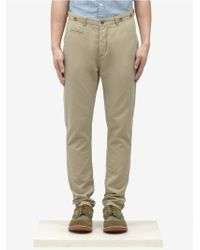 Scotch & Soda Suspender Slim Fit Cotton Chino Pants - Lyst