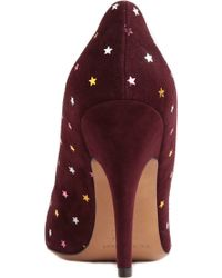 Isabel Marant Anaid Embellished Suede Courts - Lyst