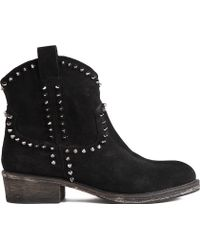 KG by Kurt Geiger Virginia Suede Ankle Boots - Lyst