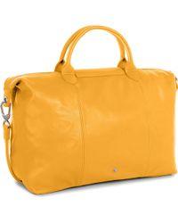 Longchamp - Le Pliage Cuir Large Handbag - Lyst