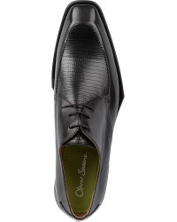 Oliver Sweeney Piano Leather Derby Shoes - Lyst